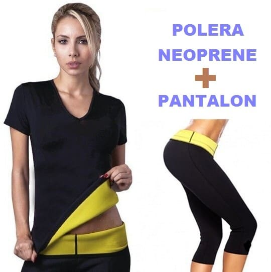 T1232 Set Polera y Pantalon Reductor Mujer