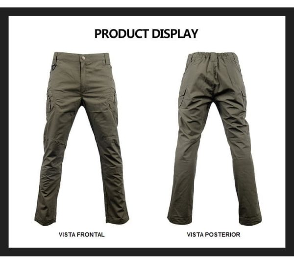T1270 Pantalon Tactico Camuflaje Outdoor