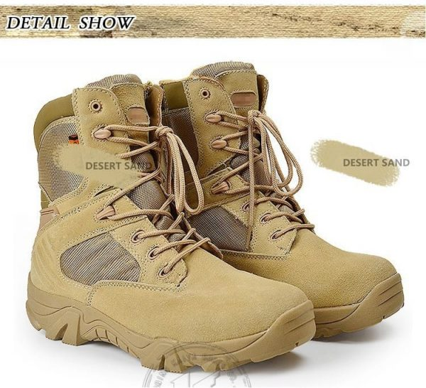 T1290 Zapato Tactico Outdoor Montañismo