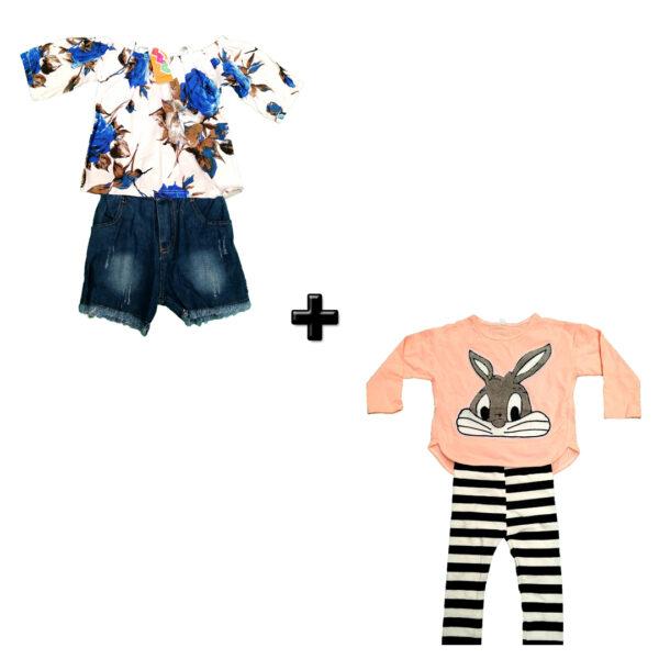 T1312 Vestido Para Niñas – Jean y Pijama