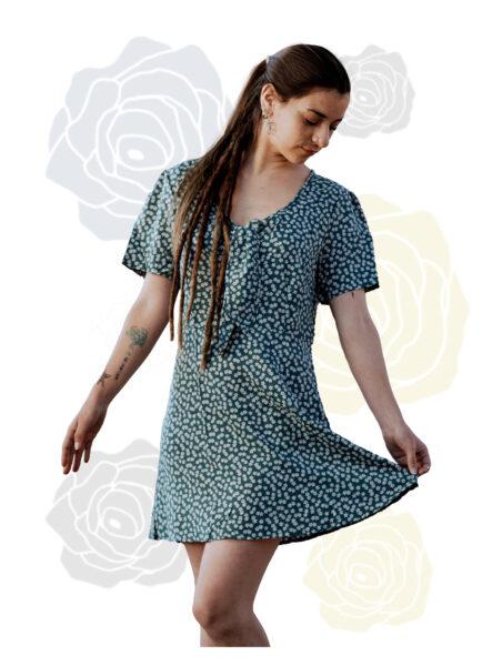 T1305 Vestido Corto Para Dama – Diseño Casual